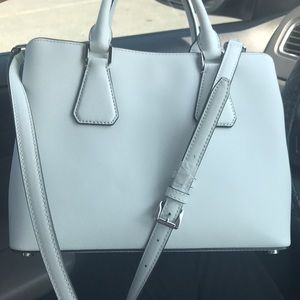 e4aaa982f4f8 Michael Kors Bags - Brand new optic white MD satchel leather CAMILLE